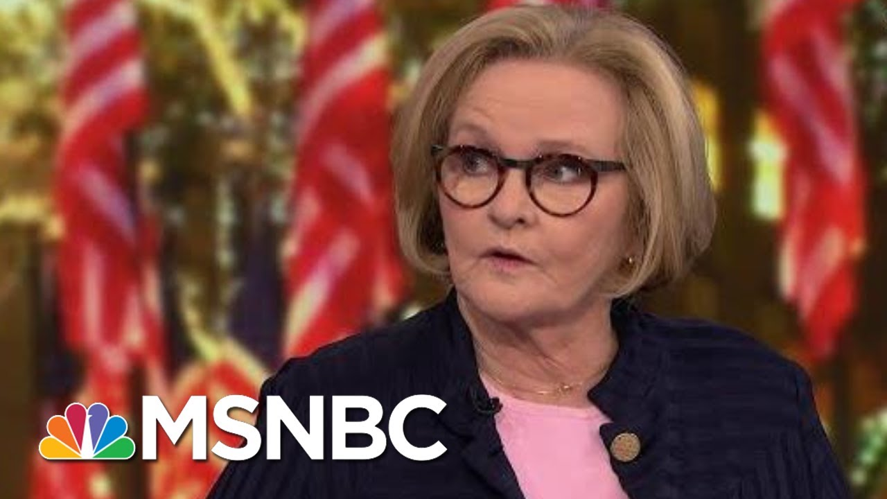 McCaskill: Health Insurance Will Be The Main Issue Of The 2020 Campaign | The 11th Hour | MSNBC 3