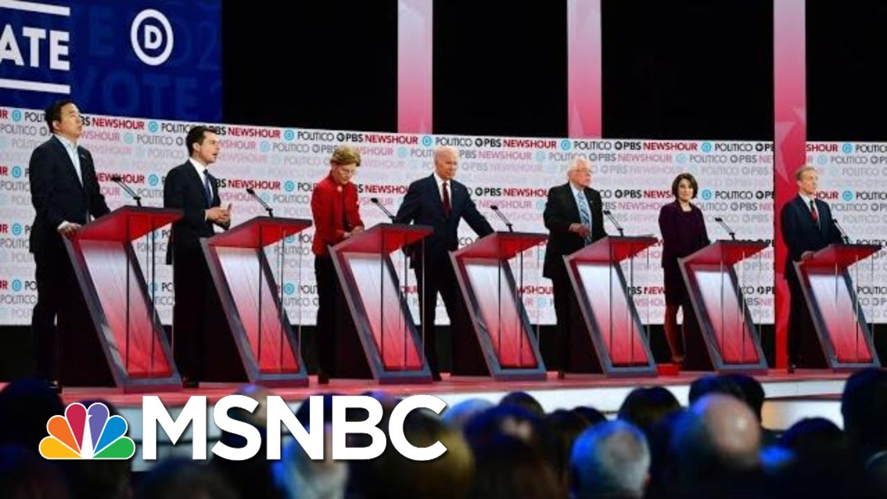 Democrats Hit Trump Immigration Policy In Fiery Sixth Debate | The 11th Hour | MSNBC 7
