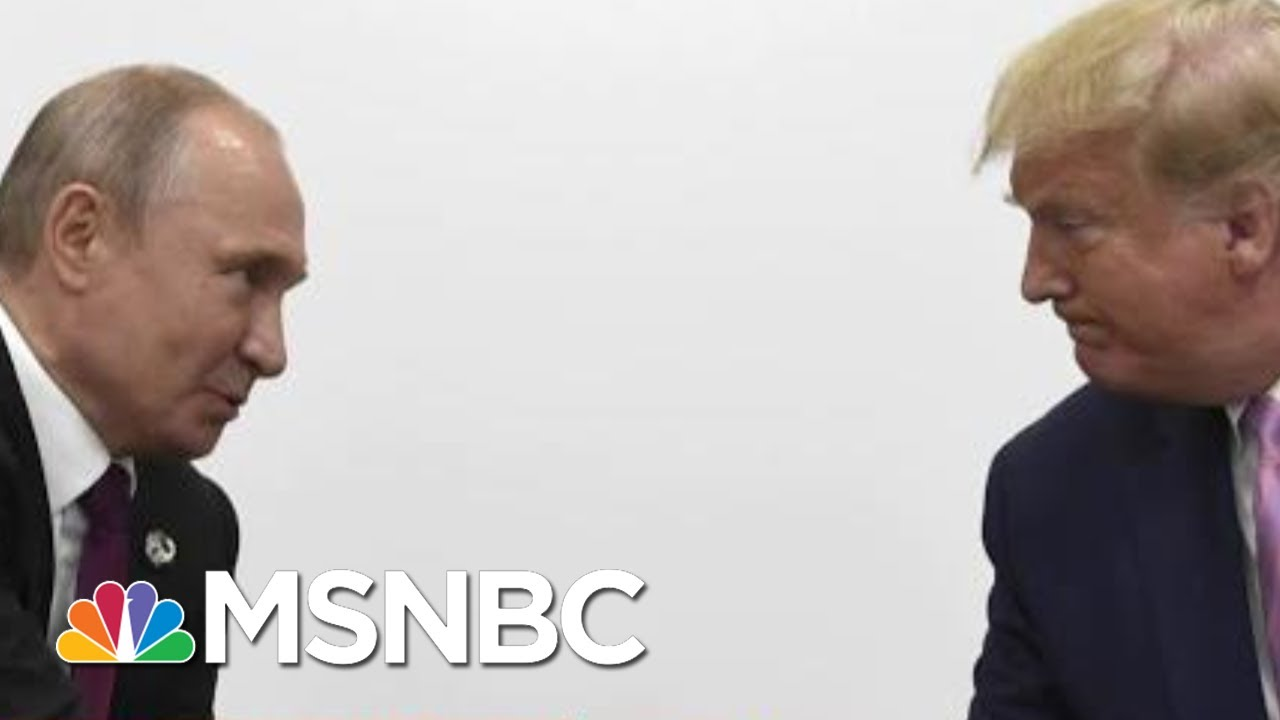 Reports: Trump May Have Relied On Putin About Debunked Conspiracy | Deadline | MSNBC 3