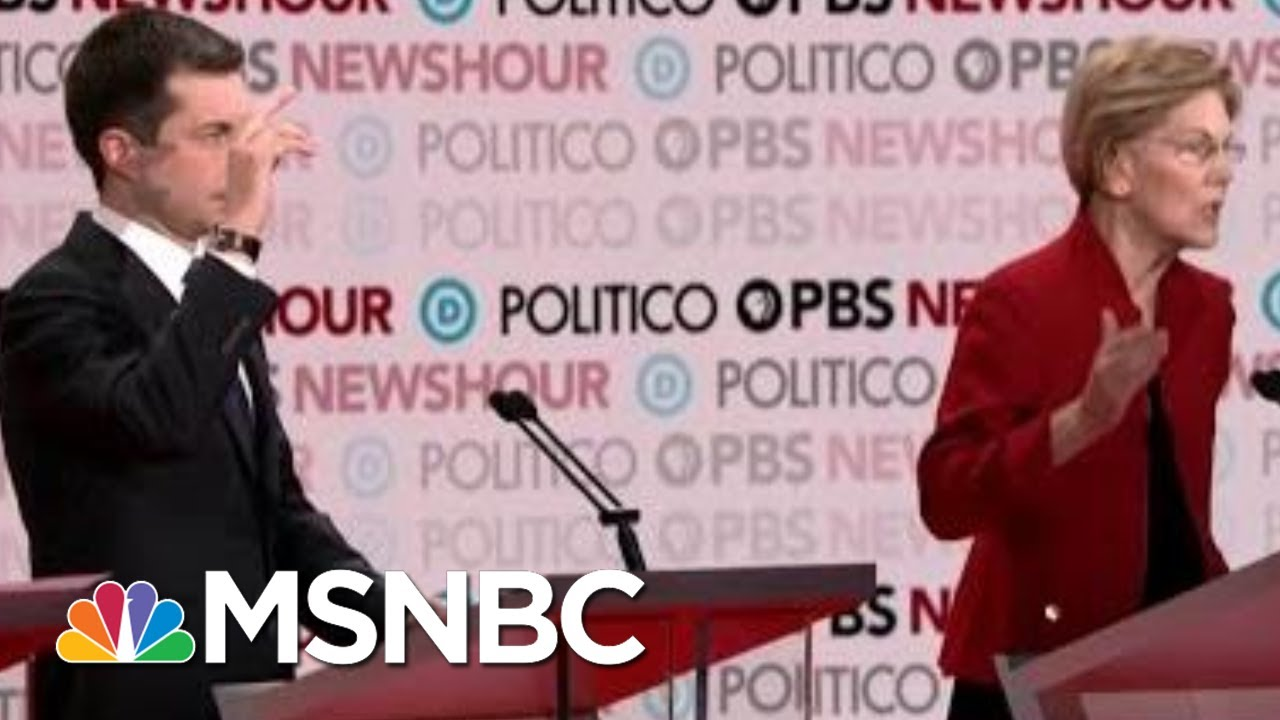 What Did We Learn From The latest Democratic debate? | MTP Daily | MSNBC 9