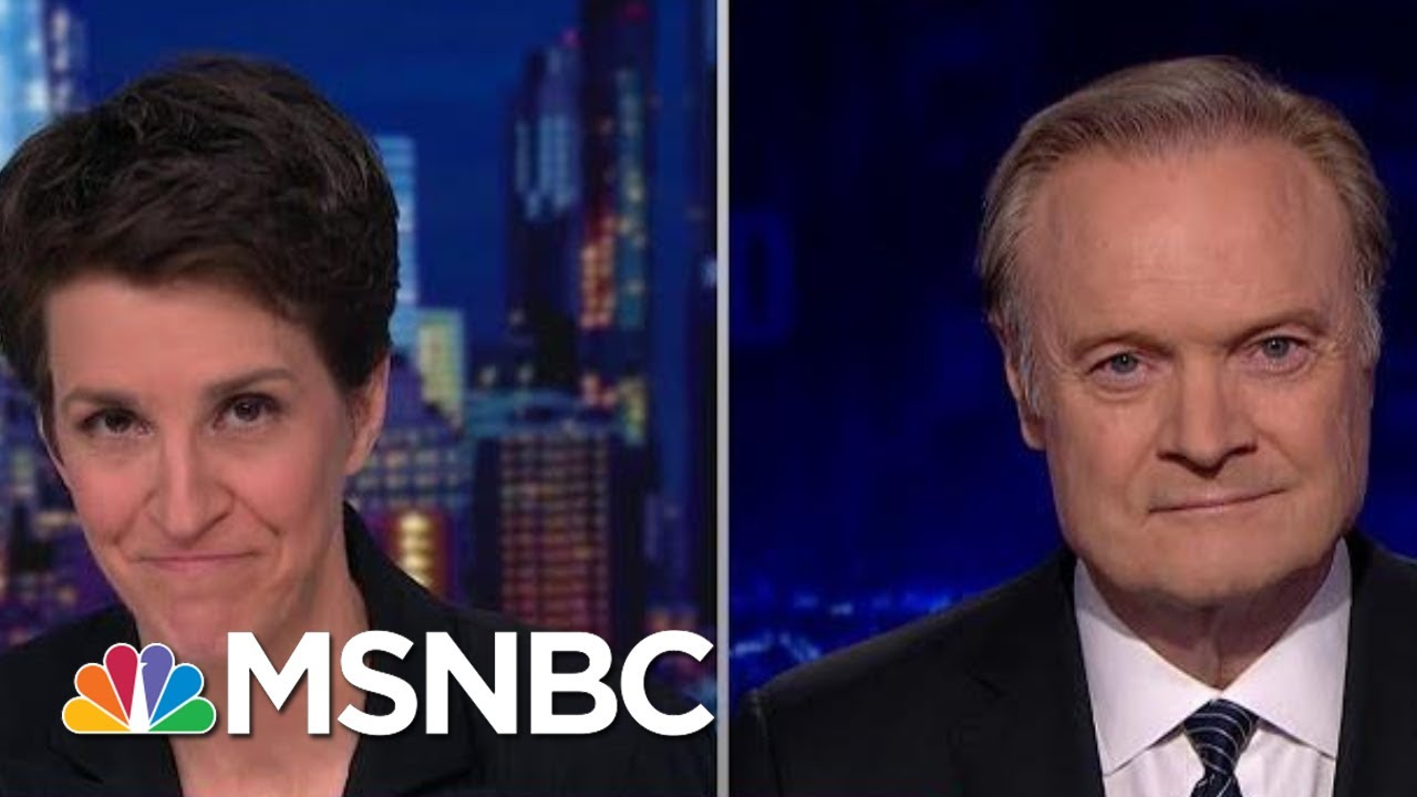 Rachel And Lawrence Talk Next Phase Of Impeachment Inquiry | The Last Word | MSNBC 7