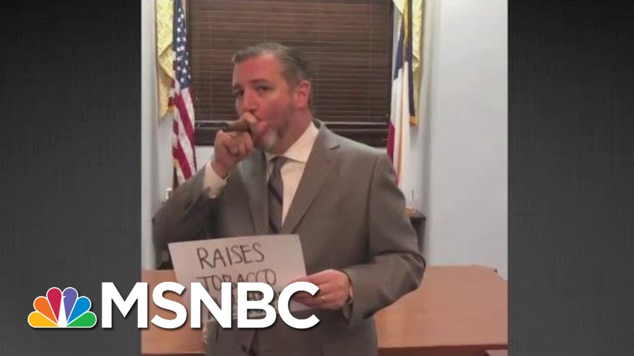President Donald Trump Raises 'Smocking' Age To 21, And Ted Cruz Is Not Happy | All In | MSNBC 2
