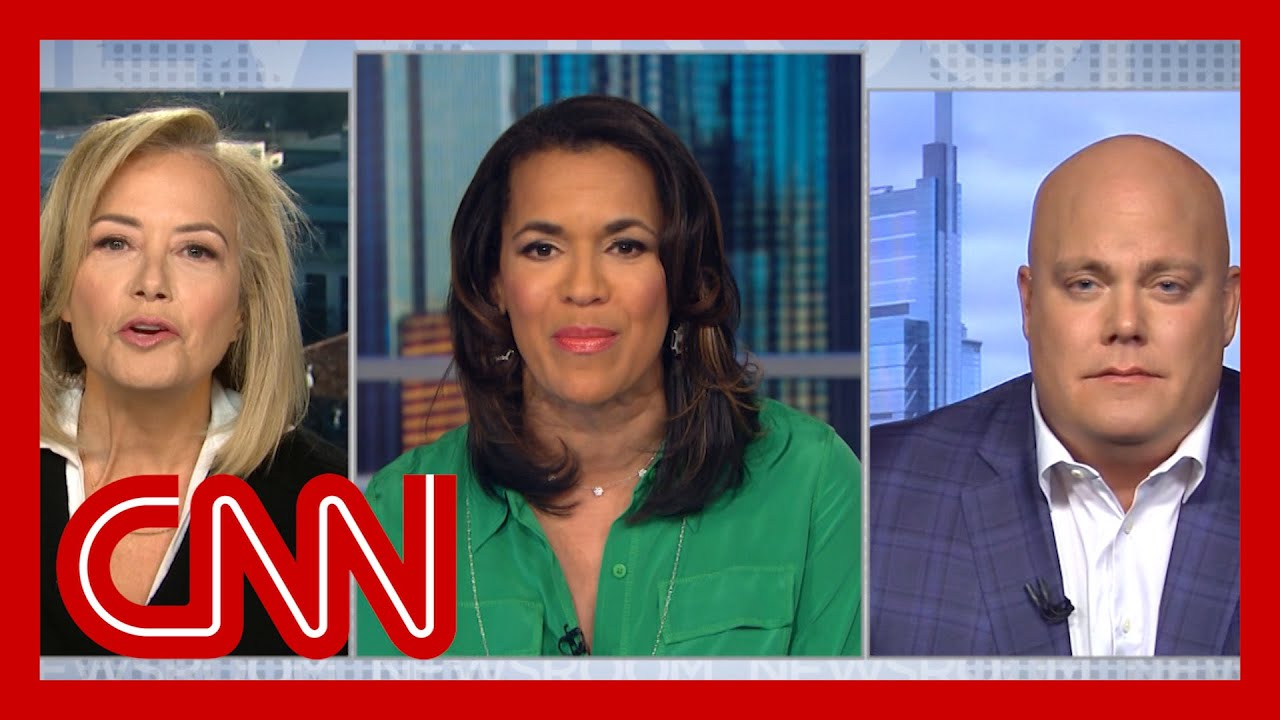 CNN panel clashes: 'You're abusing power on air!' 9