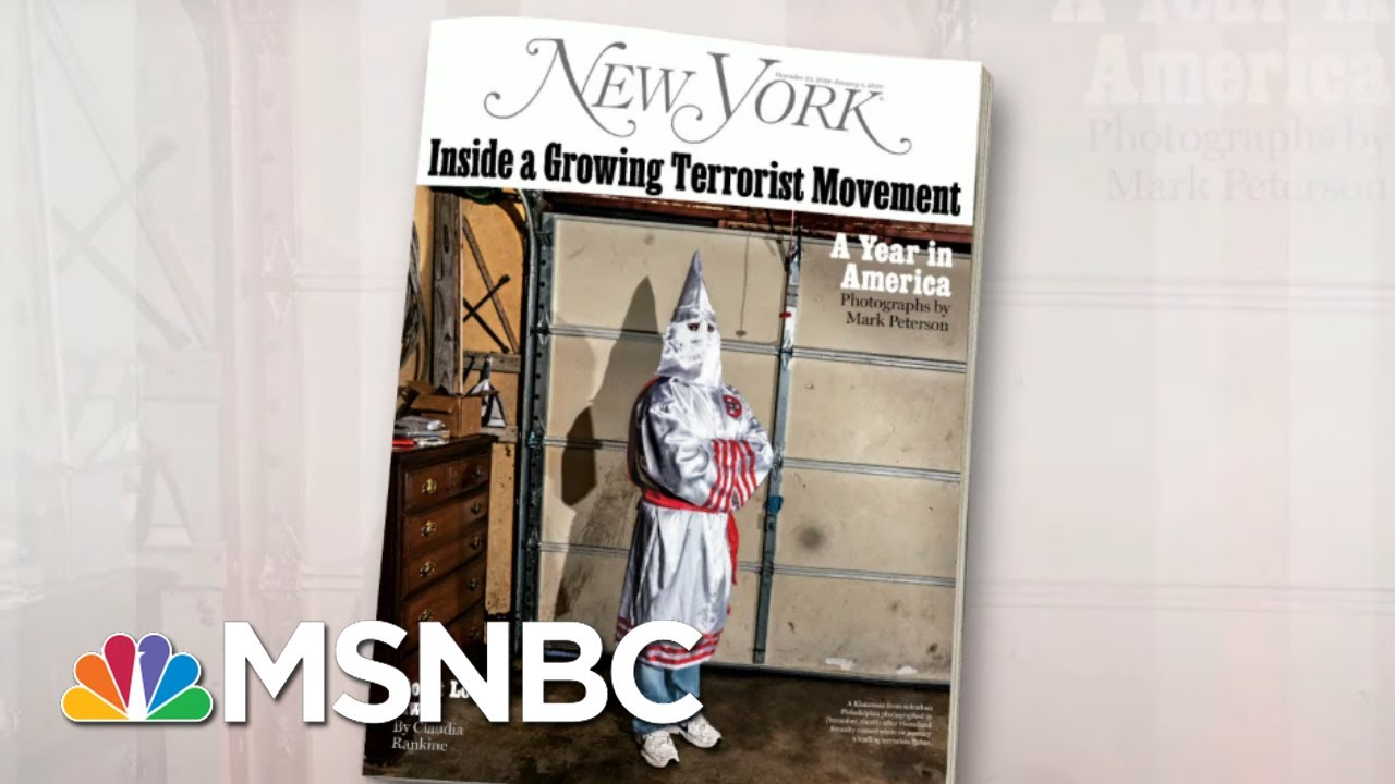 An Inside Look At The Growing US White Supremacy Movement | Morning Joe | MSNBC 4