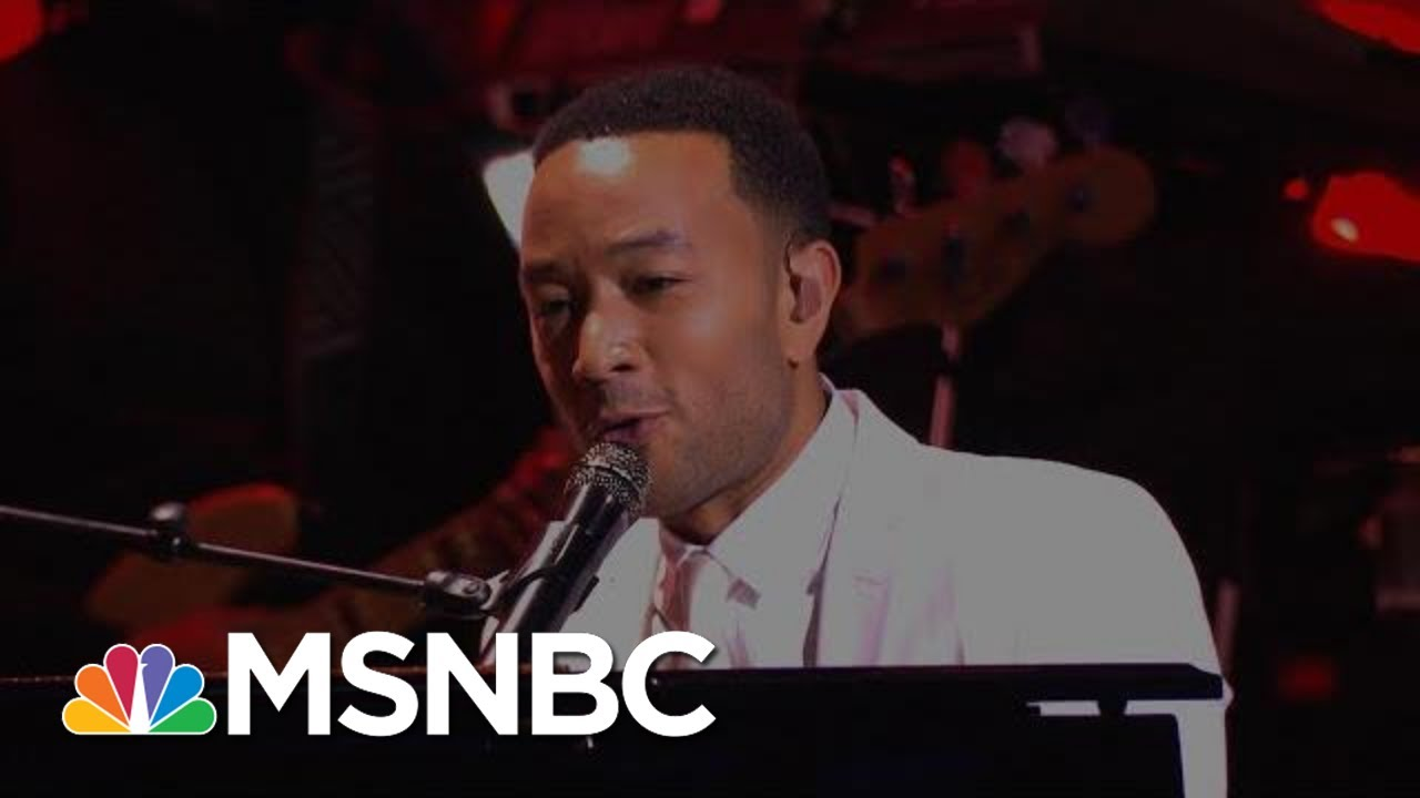 John Legend Performs 'All Of Me' | MSNBC 3