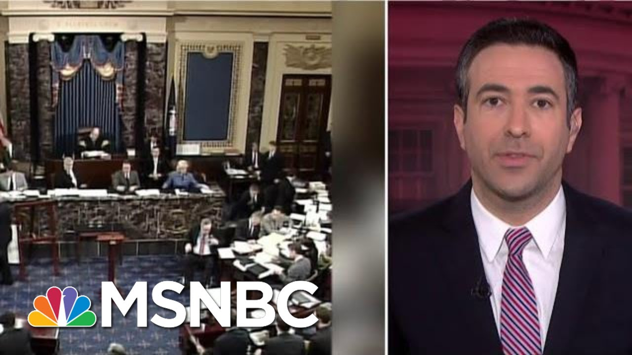 Trump's Humiliating Impeachment Trial: WH On Edge Over Rules That Can Change Anytime | MSNBC 5