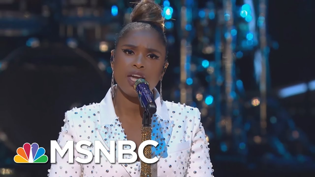 Jennifer Hudson Performs 'Hallelujah' | MSNBC 2