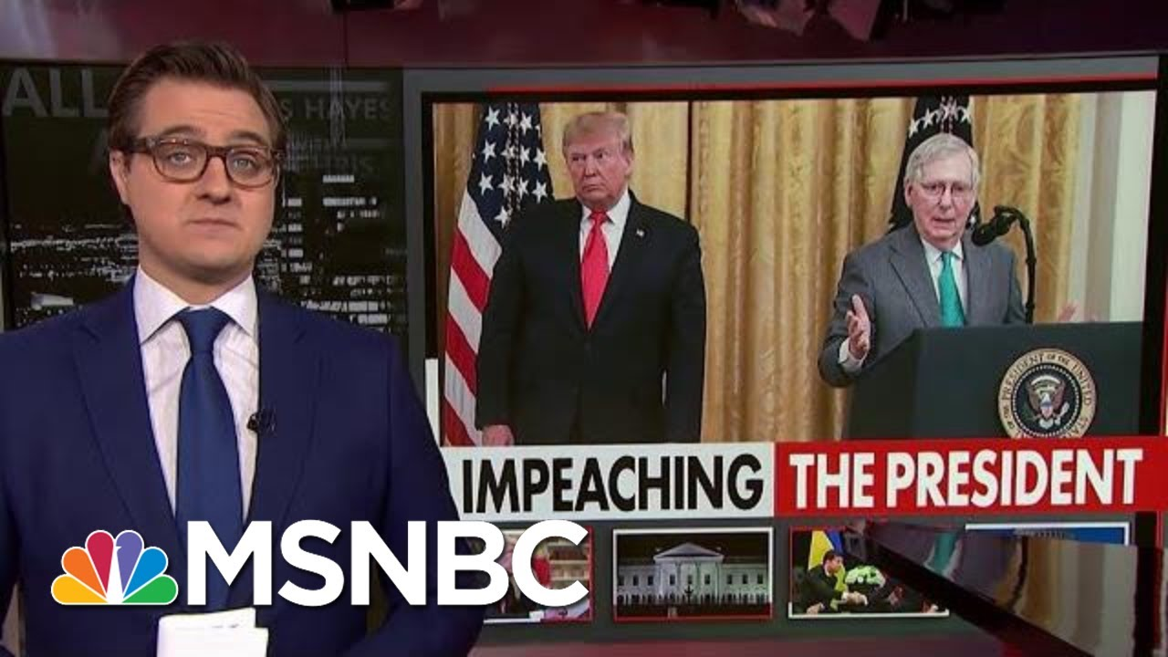 Chris Hayes On The 'Damning' Emails Sent Right After The Ukraine Phone Call | All In | MSNBC 7