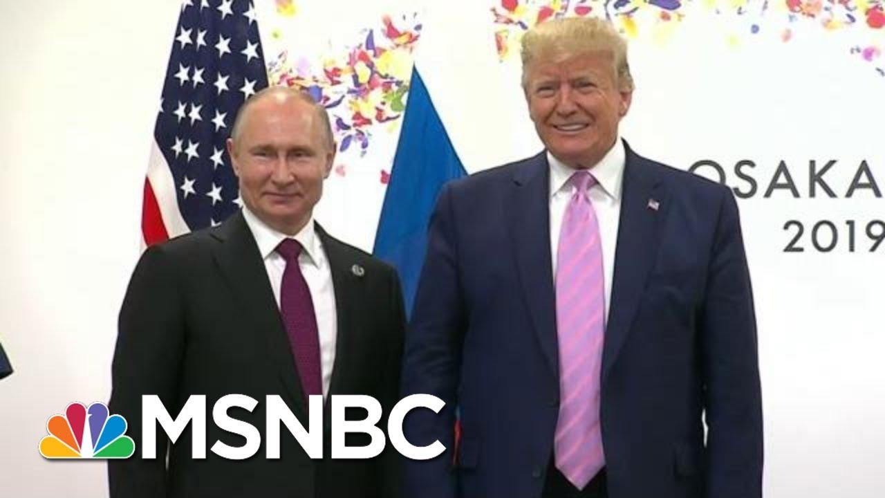 Glenn Kirschner: 'Vladimir Putin Owns President Donald Trump' | The Last Word | MSNBC 10