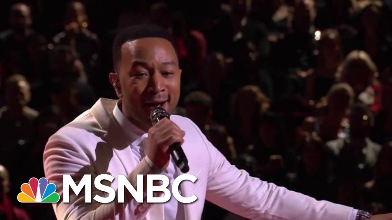 John Legend Performs 'A Change Is Gonna Come' | MSNBC 1