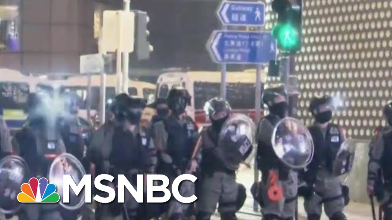 Thousands Of Hong Kong Protesters Rally In Shopping Malls On Christmas Eve | MSNBC 11