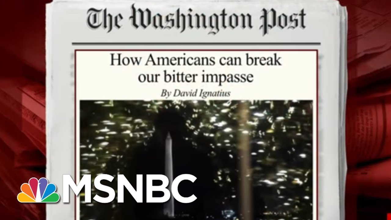 How To Escape The Bitter Political Impasse | Morning Joe | MSNBC 13