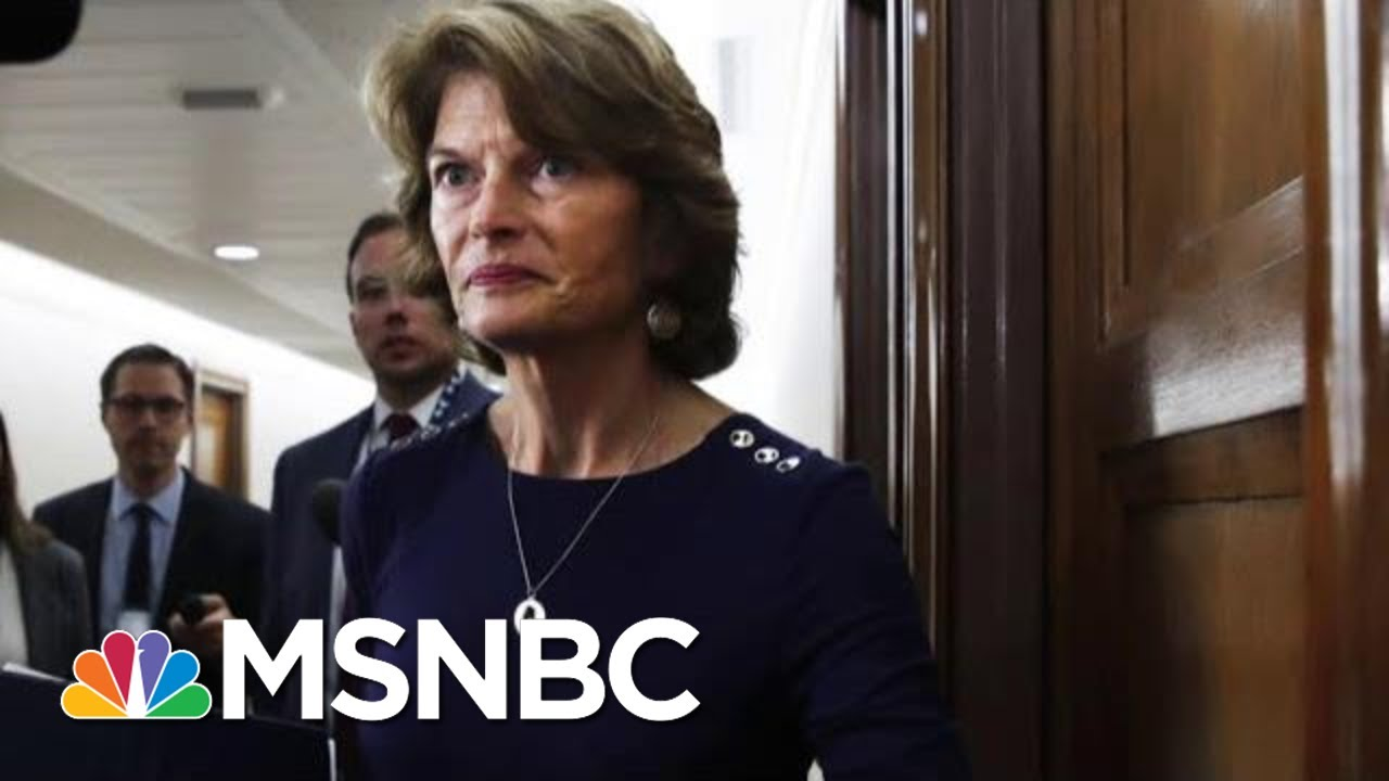 Lisa Murkowski 'Disturbed' By McConnell's Coordination With WH On Impeachment | Hardball | MSNBC 3