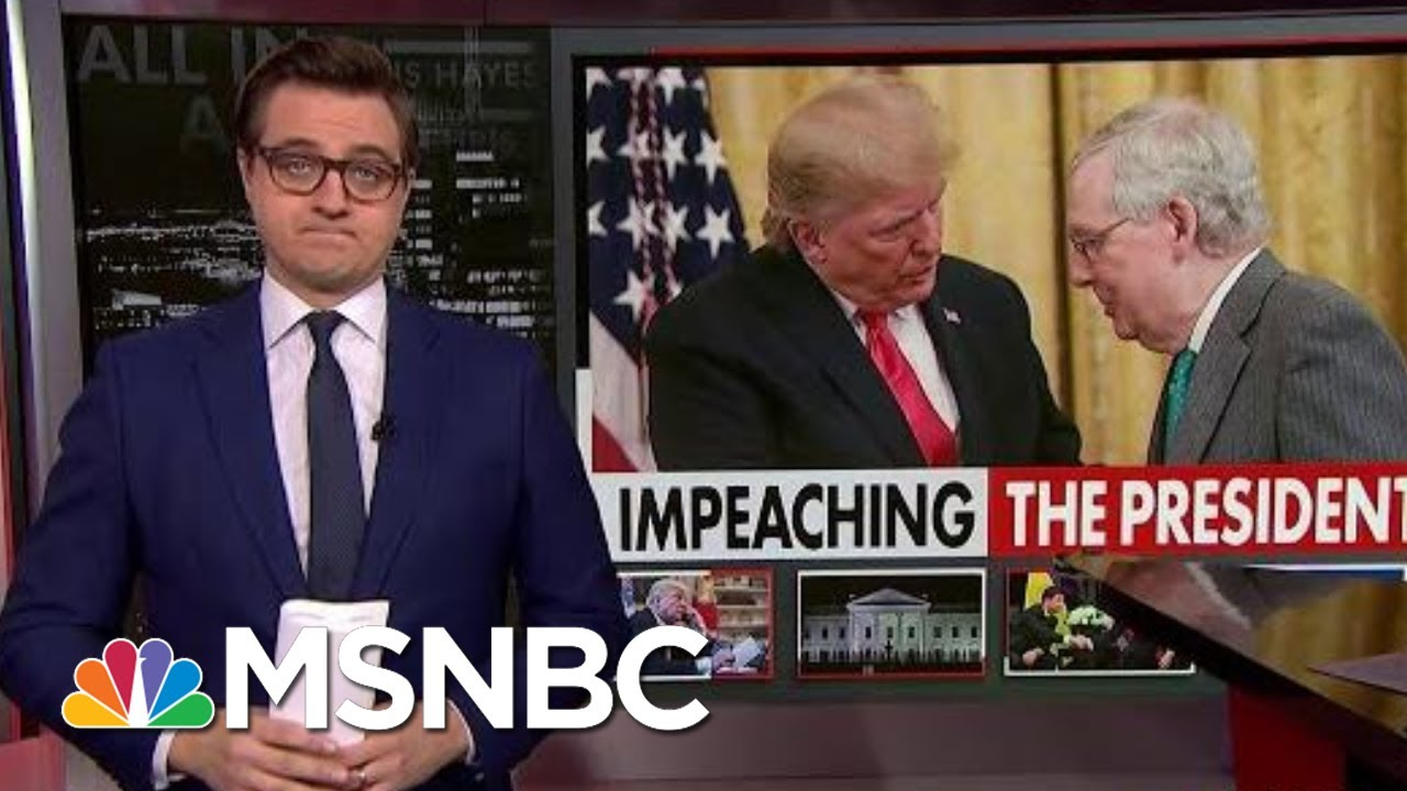 Chris Hayes On Mitch McConnell's 'Big Tactical Error' | All In | MSNBC 9