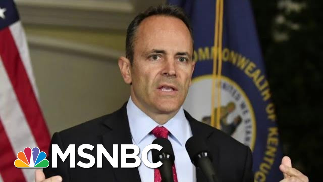 FBI looking Into Pardons By Ex-Kentucky Gov. Matt Bevin: Report | All In | MSNBC 8