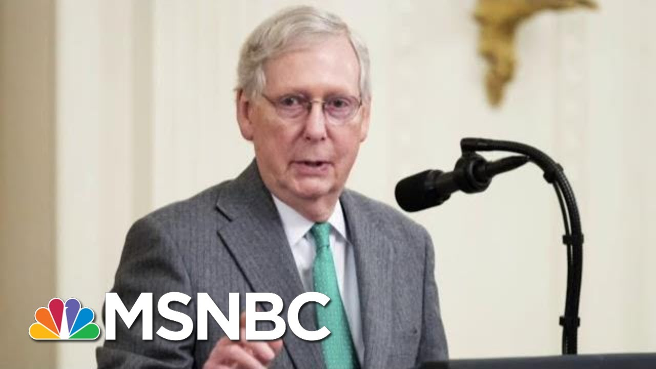 KY Newspaper Op-ed Calls Out McConnell For 'Violating' Constitutional Oaths | The Last Word | MSNBC 10