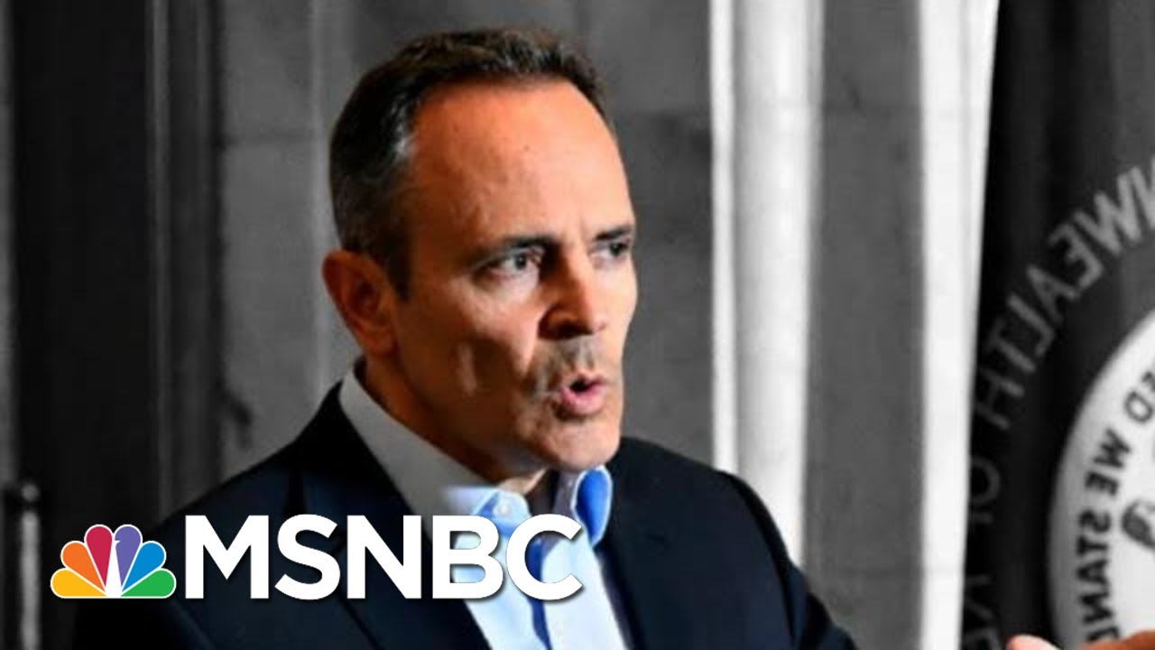 Rpt: FBI Probing Republican Matt Bevin After Shocking Pardons | The 11th Hour | MSNBC 7