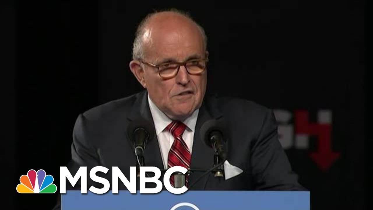 Giuliani Impeachment Testimony Could Be Trump's Worst Nightmare | The Beat With Ari Melber | MSNBC 9