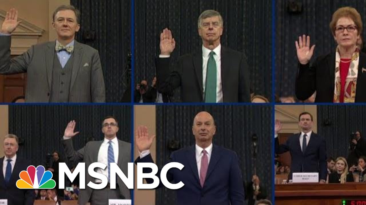 The Road To Impeachment: See The Mountain Evidence Build Against Trump | MSNBC 6