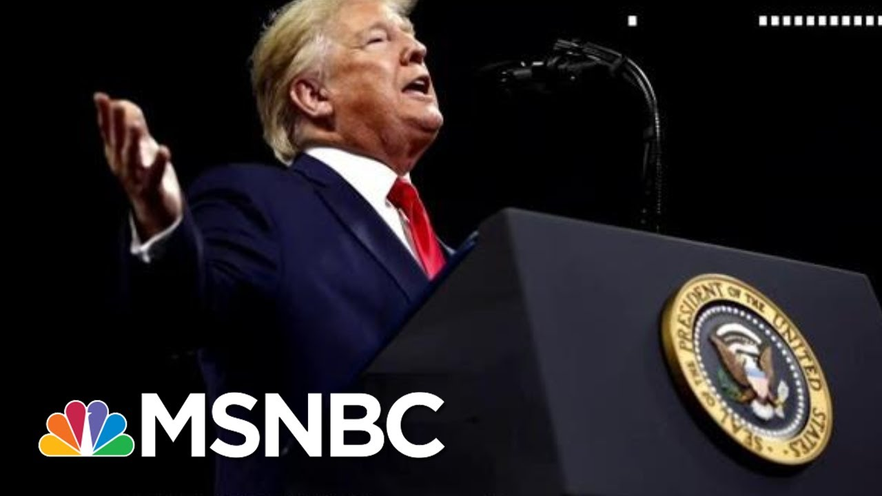 Day 1,072: Impeachment And The Campaign Trail Await Trump In 2020 | The 11th Hour | MSNBC 1