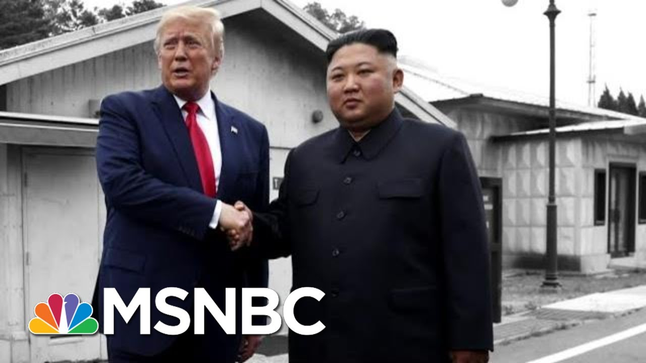 From 'Little Rocketman' To Meh: Trump Shrugs Off North Korea Missile Tests | The 11th Hour | MSNBC 7