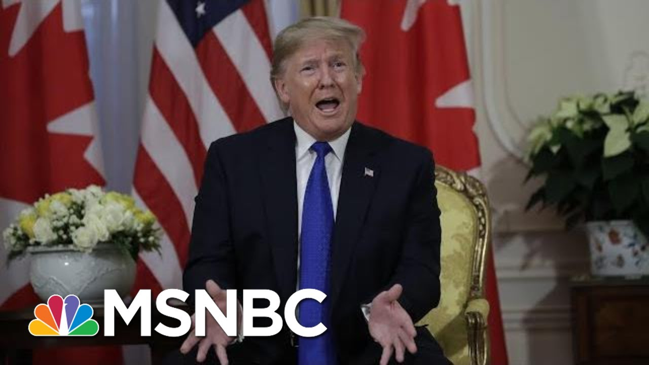 President Donald Trump: Adam Schiff Is A 'Deranged Human Being' | MSNBC 8