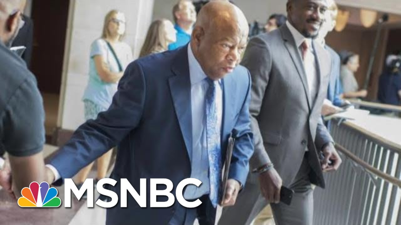 Rep. John Lewis To Undergo Treatment For Stage 4 Pancreatic Cancer | Morning Joe | MSNBC 1