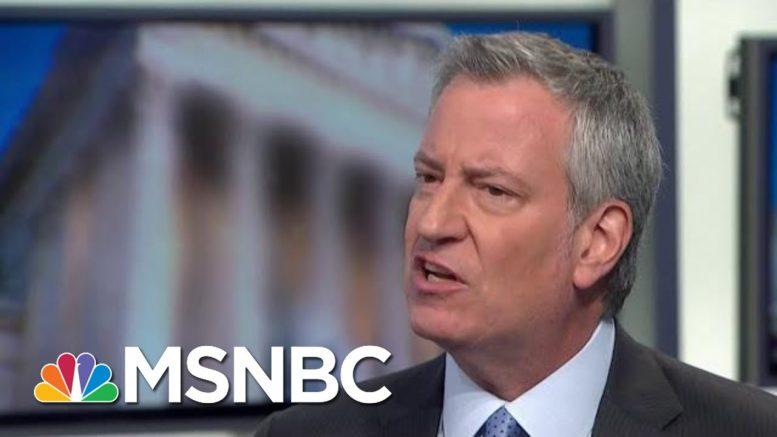 De Blasio On Hanukkah Stabbing, Increase In Anti-Semitic Attacks | MTP Daily | MSNBC 1