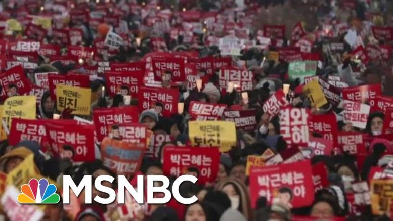 See How Mass Protest Can Impact Impeachment Fights | The Beat With Ari Melber | MSNBC 1