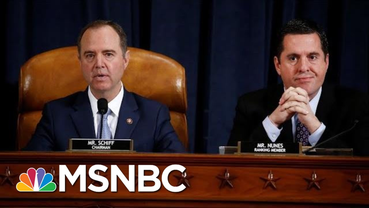 House Intelligence Committee Releases Impeachment Report | Velshi & Ruhle | MSNBC 3