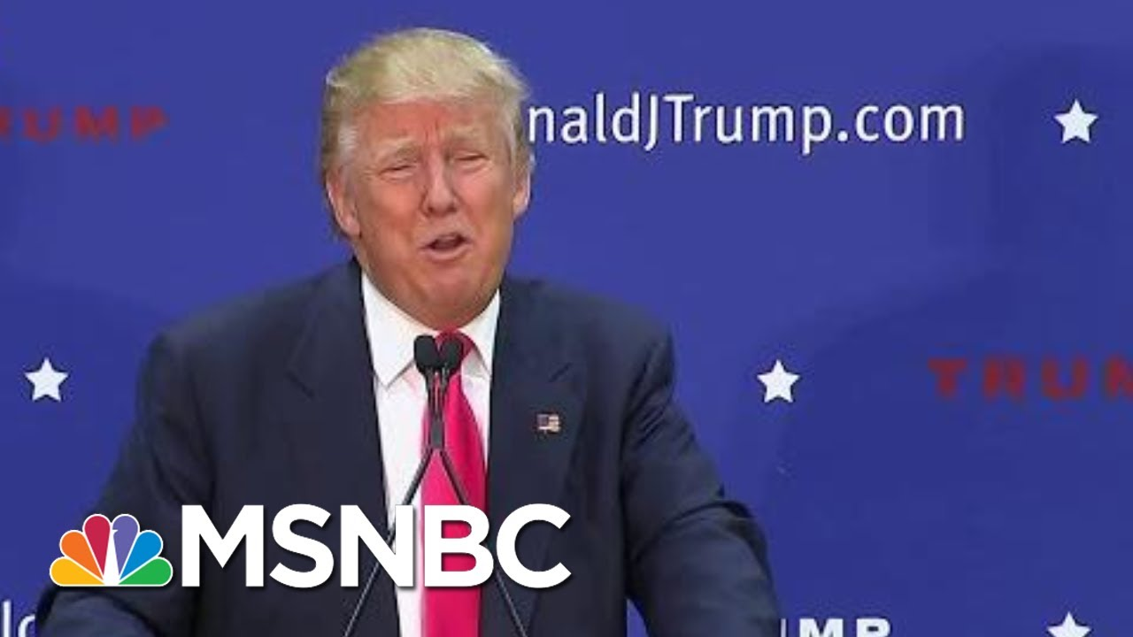 Trump In 2011: 'Plays Golf To Escape Work While America Goes Down The Drain' | All In | MSNBC 7