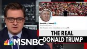 President Donald Trump's Strange Habit Of Retweeting Obscure Accounts | All In | MSNBC 3