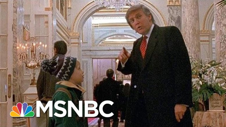 Why Trump Was Cut From 'Home Alone 2' | All In | MSNBC 1