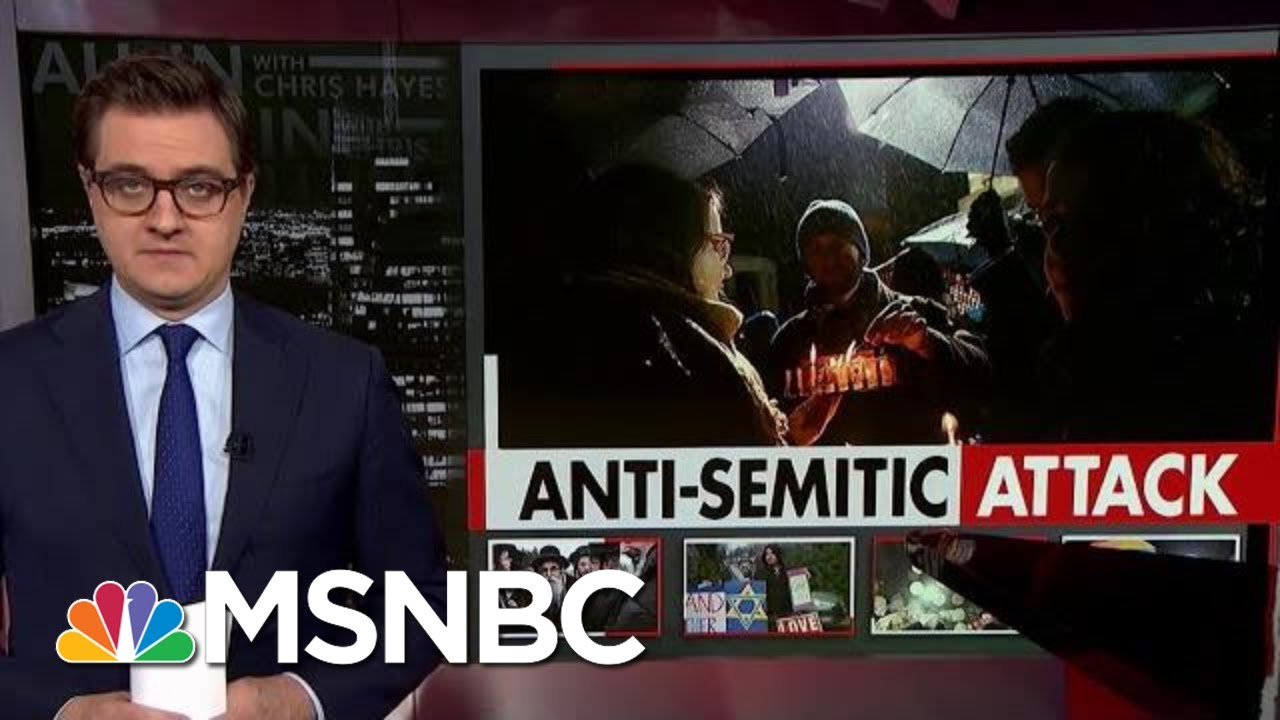 Chris Hayes On The Threat Of Anti-Semitism | All In | MSNBC 4