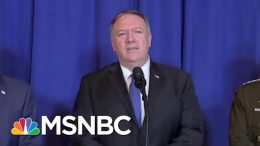 State Dept. Demurs On Mike Pompeo-Volodymyr Zelenskiy Meeting | The Last Word | MSNBC 6