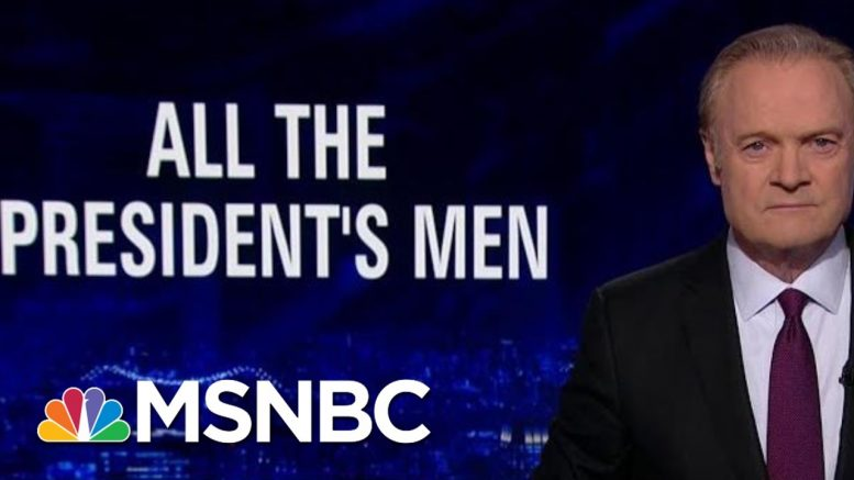 Lawrence: All The President's Men Must Testify In Senate Impeachment Trial   The Last Word   MSNBC 1