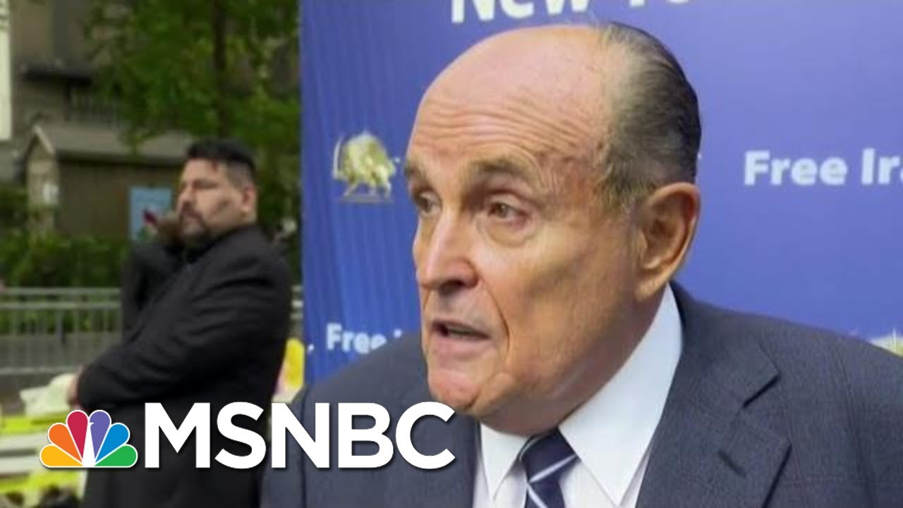 Bombshell Call Log Revealed: Giuliani Traded Calls With White House As Ukraine Plot Unfolded | MSNBC 5