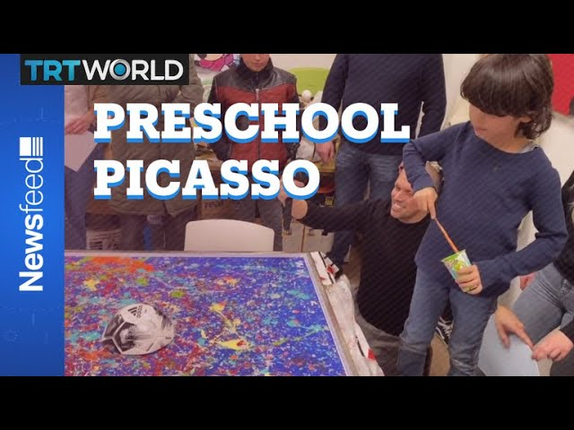 Preschool Picasso selling for thousands of dollars 10