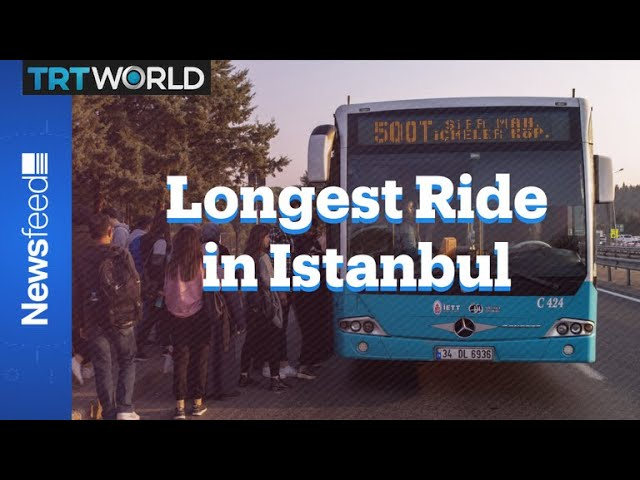 The 500T Istanbul's most famous bus! 7