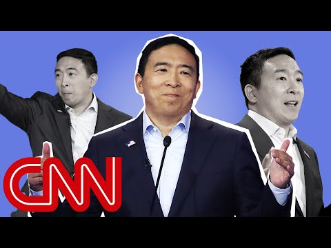 Andrew Yang's remarkable rise 1