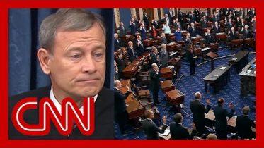 Senators take oath at Trump's impeachment trial 6