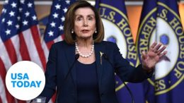 Nancy Pelosi holds press conferences ahead of impeachment trial | USA TODAY 9