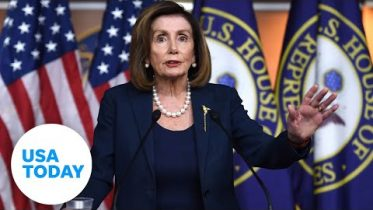 Nancy Pelosi holds press conferences ahead of impeachment trial | USA TODAY 6