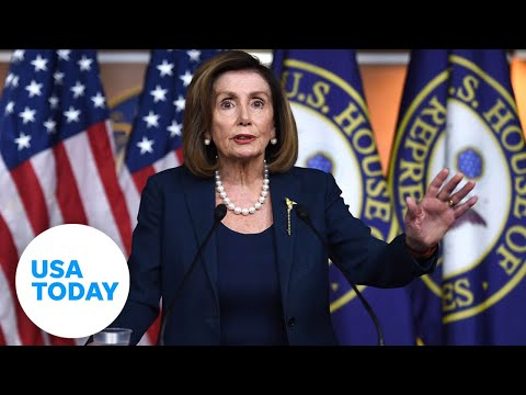 Nancy Pelosi holds press conferences ahead of impeachment trial | USA TODAY 1