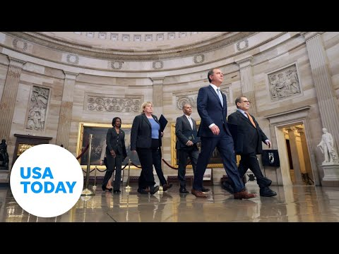 House managers present articles of impeachment to Senate   USA TODAY 1