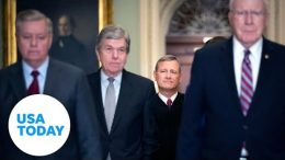 Senators sworn in by Chief Justice for impeachment trial | USA TODAY 8