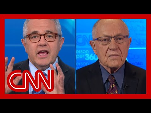 Toobin to Alan Dershowitz: What side are you on? 1