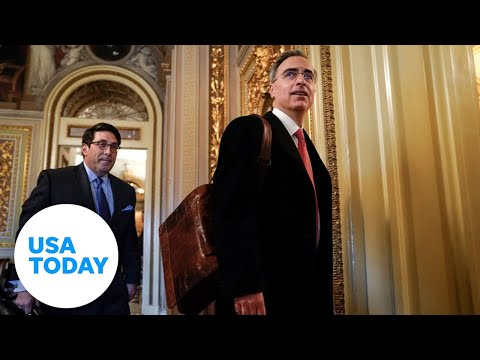 President Trump's defense team makes last day of arguments   USA TODAY 1
