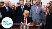 President Trump signs revamped USMCA trade agreement | USA TODAY 3