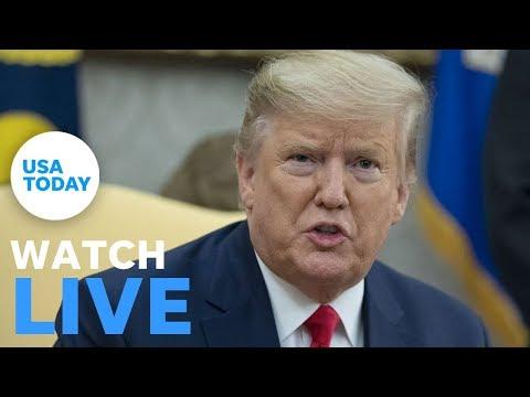 President Trump speaks at summit on human trafficking | USA TODAY 1